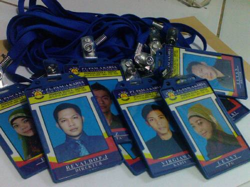 id card kartu pelajar karyawan member
