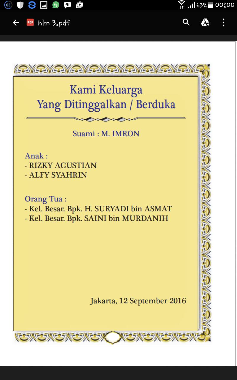 Cetak Buku Yasin Rumahcetak29 Ps Minggu Jakarta