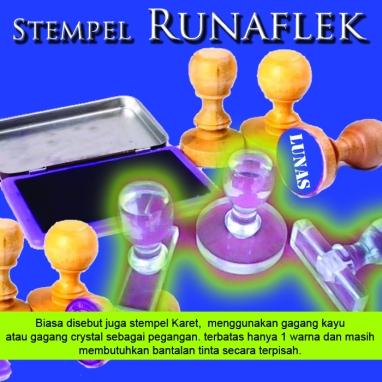 Stempel runaflek